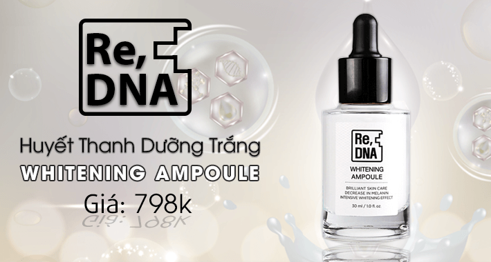 Huyet Thanh Duong Trang Whitening Ampoule Re Dna Nacos