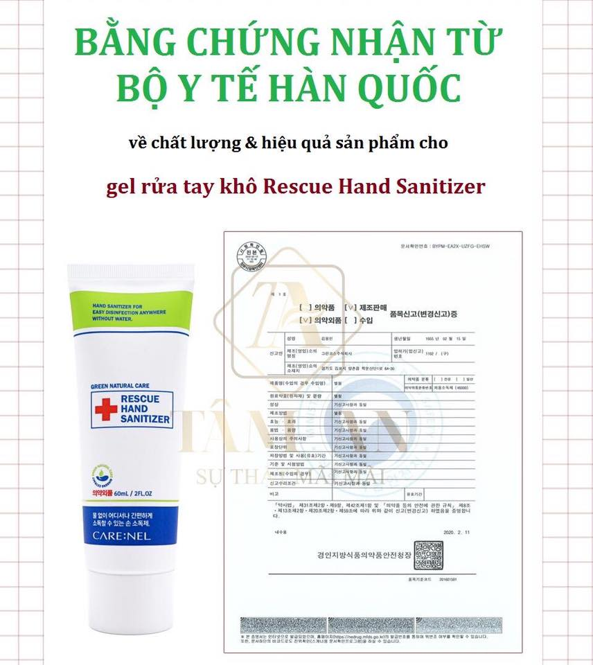 Co Nen Su Dung Gel Rua Tay Kho Carenel Han Quoc Khong 3