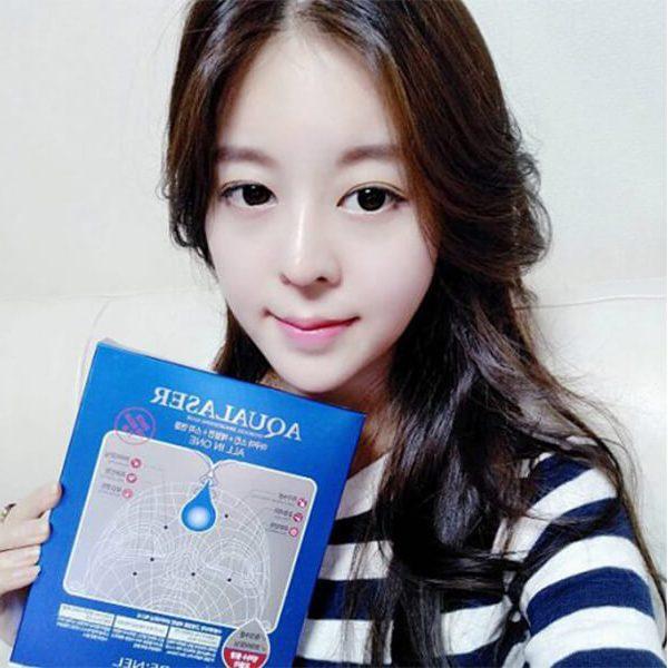 Mat Na Thach Duong Da Trang Sang Am Min Aqualaser Hydrogel Brightening Mask