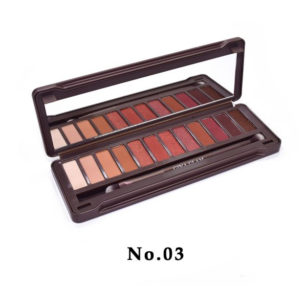 Gina Glam Ultimate Heat Eyeshadow Palette No.03 1ae592fbaf7c4dedb7b4f416eedd9dc9