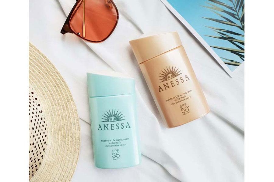 Kem Chong Nang Anessa Essence Sunscreen Mild Milk Nacos