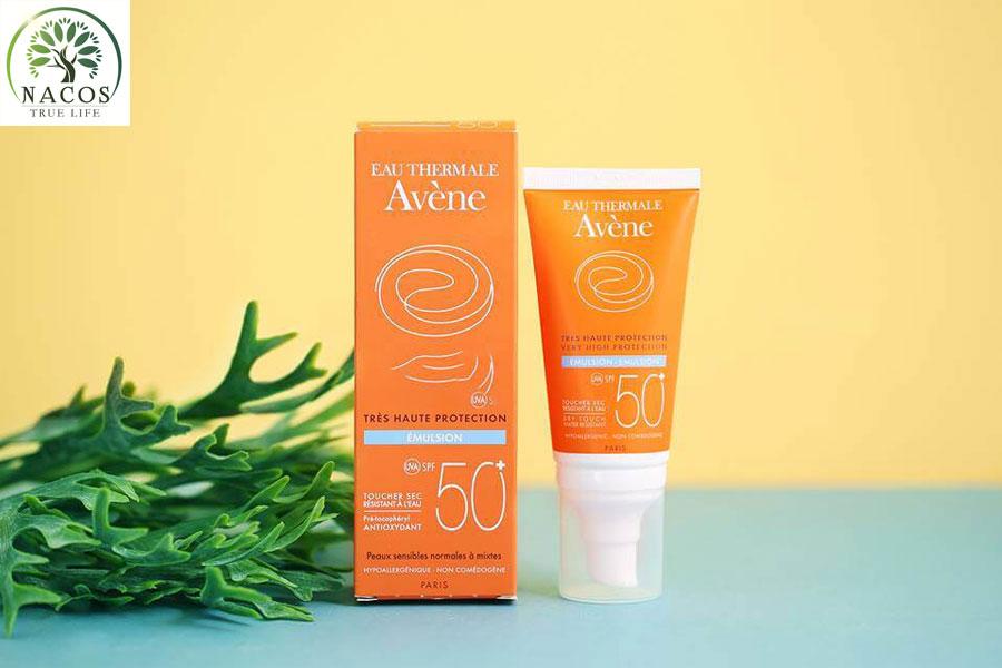 Kem Chong Nang Avene Very High Protection Emulsion Nacos