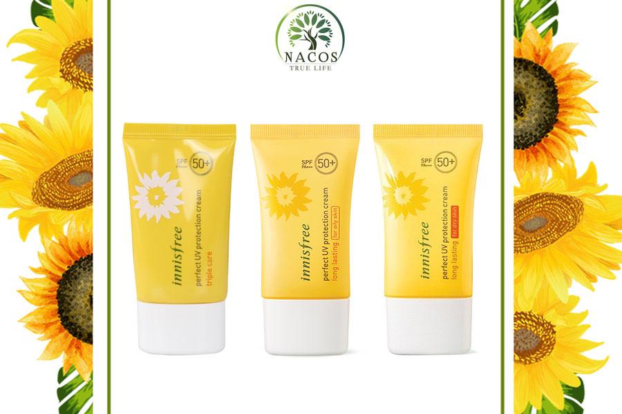 Kem Chong Nang Innisfree Perfect Uv Protection Cream Nacos