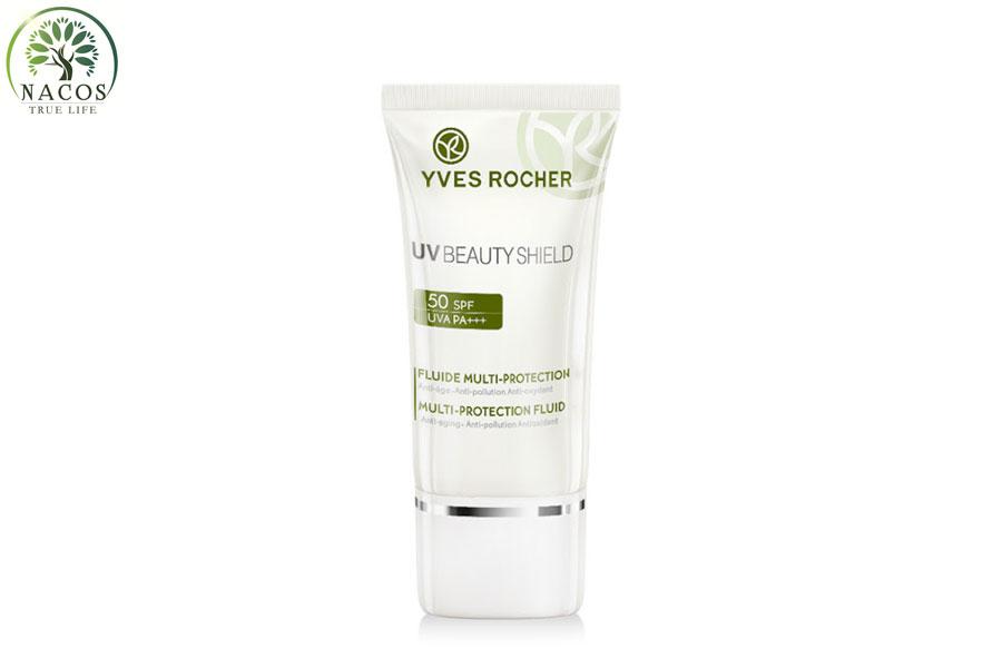 Kem Chong Nang Yves Rocher Uv Beauty Shield Multi Protection Fluid Nacos