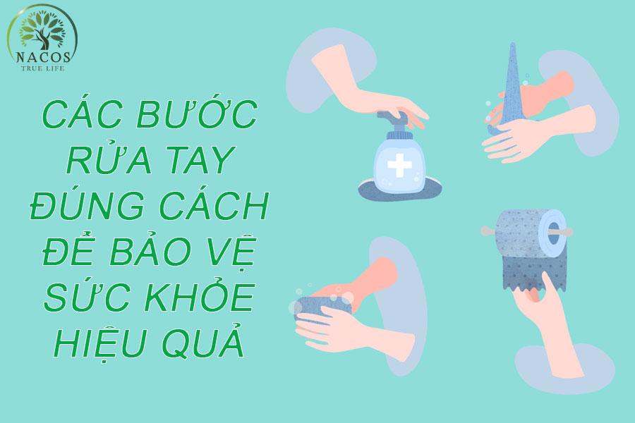 Cac Buoc Rua Tay Dung Cach De Bao Ve Suc Khoe Hieu Qua