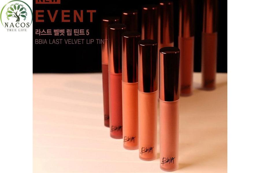 Son Kem Li Bbia Last Velvet Lip Tint