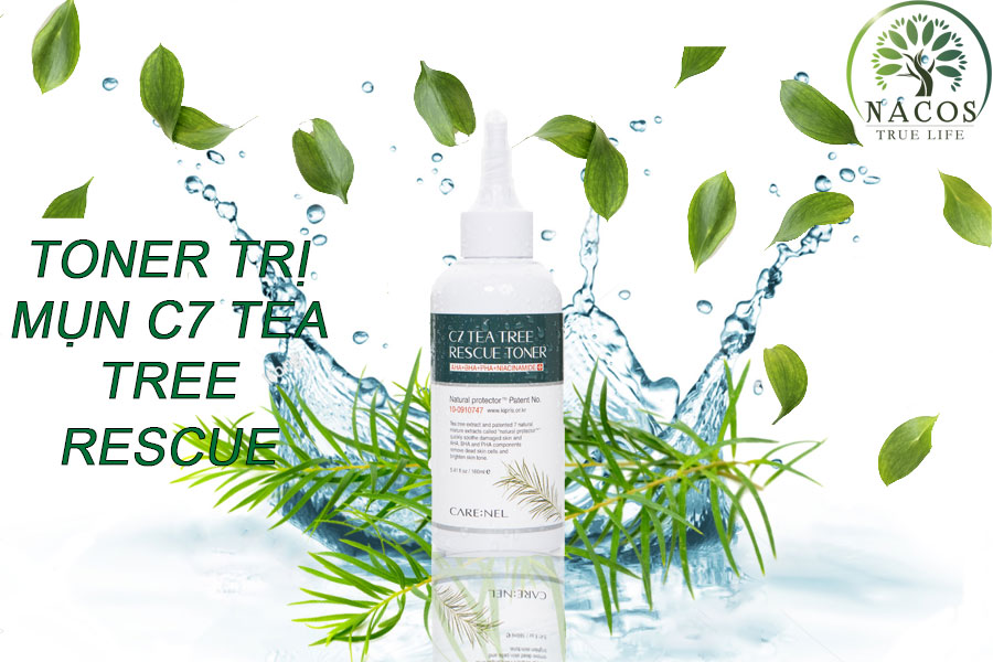 Toner Ngua Mun C7 Tea Tree Aha Bha Pha Nacos
