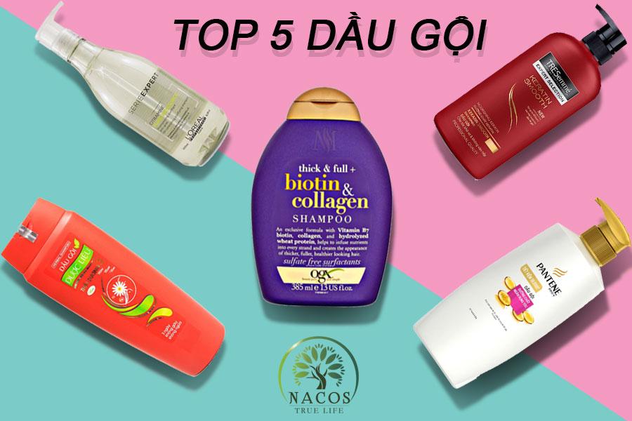 Top 5 Dau Goi Tot Nhat Hien Nay Nacos