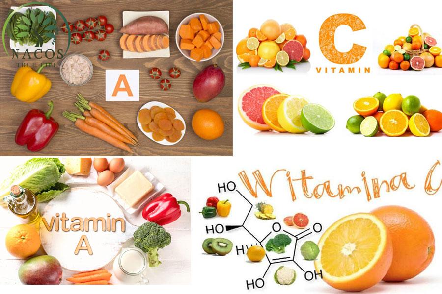 Vitamin A C Ngan Rung Toc