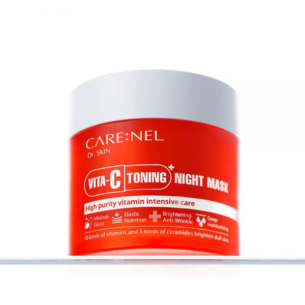 Mat Na Ngu Mat Vita C Toning Night Mask Carenel 2
