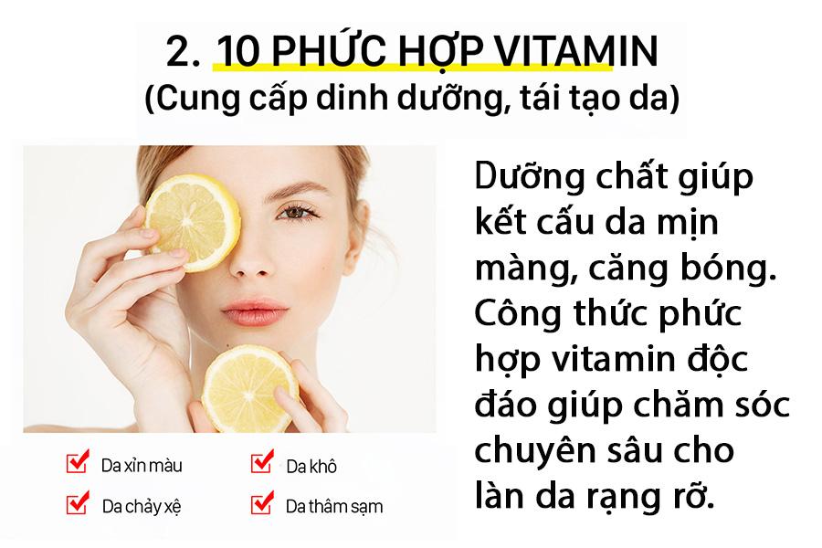 Phuc Hop Vitamin Mat Na Ngu Mat Vita C Toning Night Mask